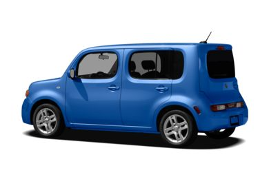 Surround 3/4 Rear - Drivers Side  2012 Nissan Cube