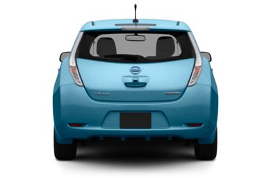 Rear Profile  2012 Nissan LEAF