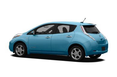 Surround 3/4 Rear - Drivers Side  2012 Nissan LEAF