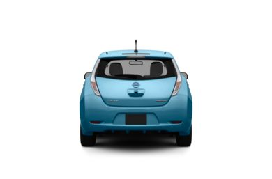 Surround Rear Profile 2012 Nissan LEAF