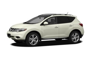 3/4 Front Glamour 2012 Nissan Murano