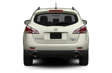 Rear Profile  2012 Nissan Murano