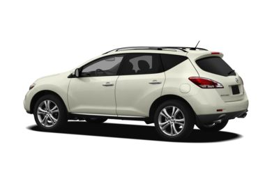 Surround 3/4 Rear - Drivers Side  2012 Nissan Murano