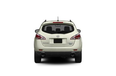 Surround Rear Profile 2012 Nissan Murano