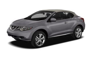 3/4 Front Glamour 2012 Nissan Murano CrossCabriolet