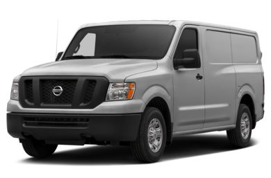 3/4 Front Glamour 2016 Nissan NV Cargo NV1500