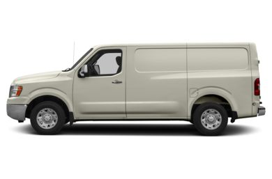 90 Degree Profile 2016 Nissan NV Cargo NV2500 HD