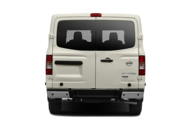 Rear Profile  2016 Nissan NV Cargo NV3500 HD