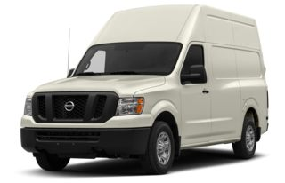 3/4 Front Glamour 2014 Nissan NV Cargo NV2500 HD