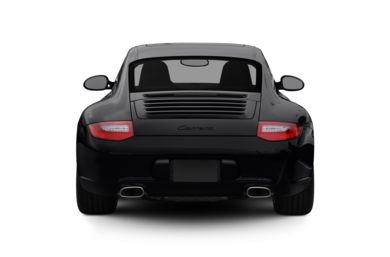 Rear Profile  2012 Porsche 911