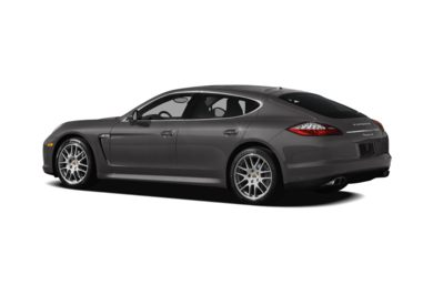 Surround 3/4 Rear - Drivers Side  2012 Porsche Panamera