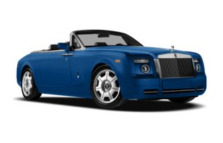 3/4 Front Glamour 2012 Rolls-Royce Phantom Drophead Coupe