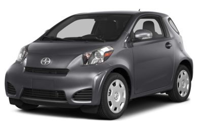 3/4 Front Glamour 2014 Scion iQ