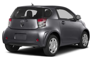3/4 Rear Glamour  2013 Scion iQ