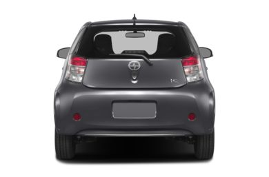Rear Profile  2013 Scion iQ