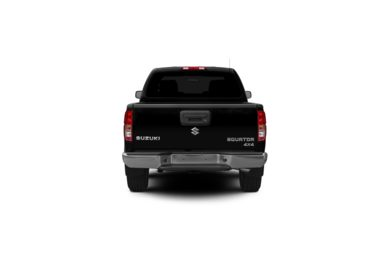 Surround Rear Profile 2012 Suzuki Equator