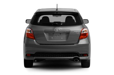 Rear Profile  2012 Toyota Matrix