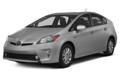 3/4 Front Glamour 2013 Toyota Prius Plug-in