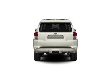 Surround Rear Profile 2012 Toyota 4Runner