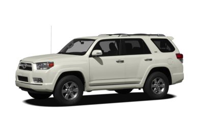 Surround Front Profile  2012 Toyota 4Runner