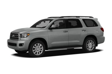 3/4 Front Glamour 2012 Toyota Sequoia