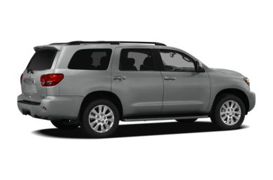 3/4 Rear Glamour  2012 Toyota Sequoia