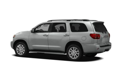 Surround 3/4 Rear - Drivers Side  2012 Toyota Sequoia
