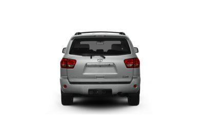 Surround Rear Profile 2012 Toyota Sequoia
