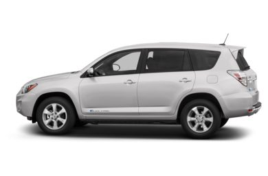 90 Degree Profile 2012 Toyota RAV4 EV