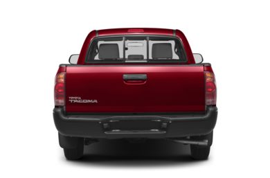 Rear Profile  2012 Toyota Tacoma