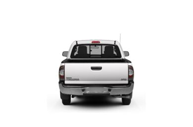 Surround Rear Profile 2012 Toyota Tacoma