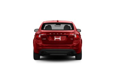 Surround Rear Profile 2012 Volvo S60