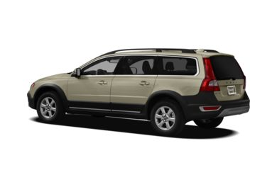 Surround 3/4 Rear - Drivers Side  2012 Volvo XC70
