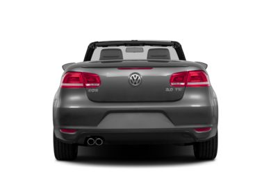 Rear Profile  2012 Volkswagen Eos