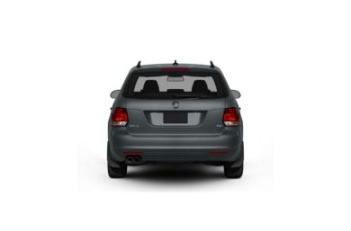 Surround Rear Profile 2012 Volkswagen Jetta SportWagen