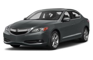 3/4 Front Glamour 2013 Acura ILX