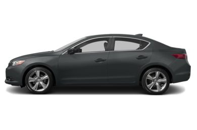 90 Degree Profile 2013 Acura ILX