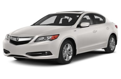 3/4 Front Glamour 2013 Acura ILX Hybrid