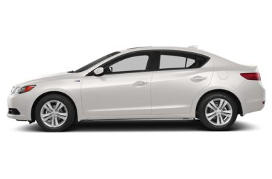 90 Degree Profile 2013 Acura ILX Hybrid