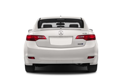 Rear Profile  2013 Acura ILX Hybrid