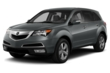 3/4 Front Glamour 2013 Acura MDX