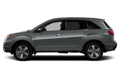 90 Degree Profile 2013 Acura MDX