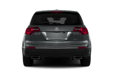 Rear Profile  2013 Acura MDX