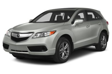3/4 Front Glamour 2013 Acura RDX