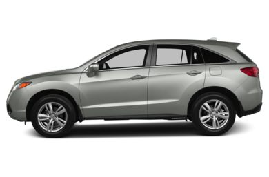 90 Degree Profile 2013 Acura RDX