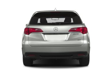 Rear Profile  2013 Acura RDX