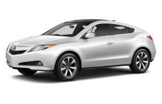 3/4 Front Glamour 2013 Acura ZDX