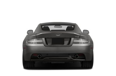 Rear Profile  2013 Aston Martin DB9