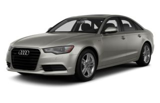 3/4 Front Glamour 2013 Audi A6