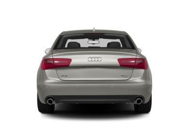 Rear Profile  2013 Audi A6